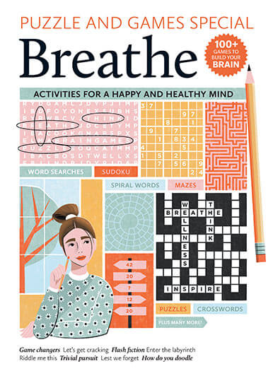 Cover of breathe puzzle and games special