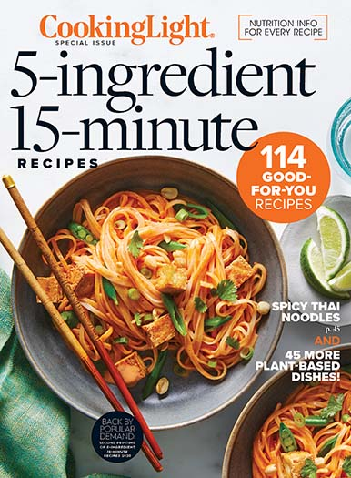 Cover of Cooking Light 5 Ingredients, 15 Minutes