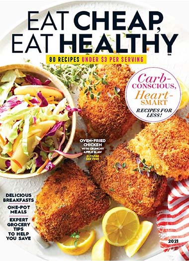 Cover of Eat Cheap, Eat Healthy