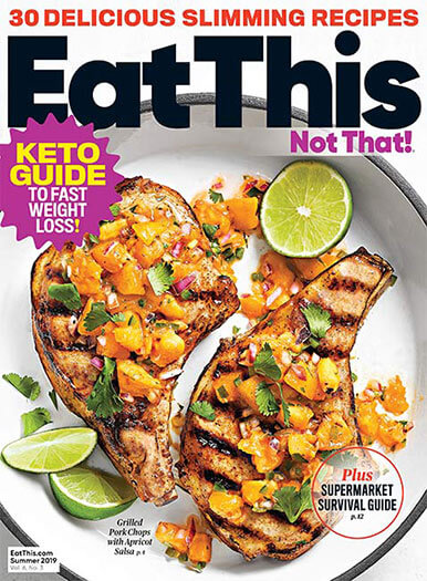 Cover of Eat This, Not That! Summer 2019