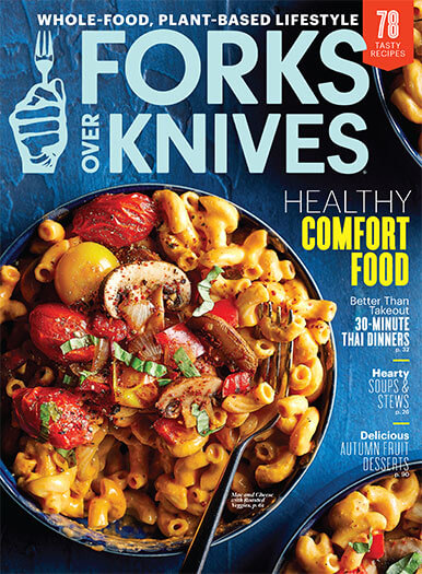 Cover of Forks Over Knives Fall 2020