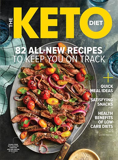 Cover of The Keto Diet 2021