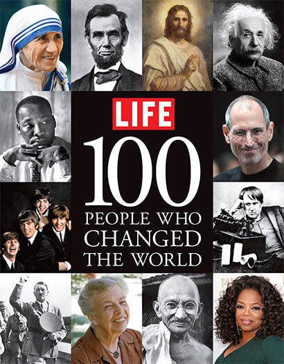Cover of LIFE: 100 People Who Changed the World