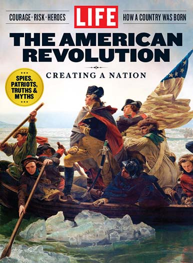 Cover of LIFE The American Revolution