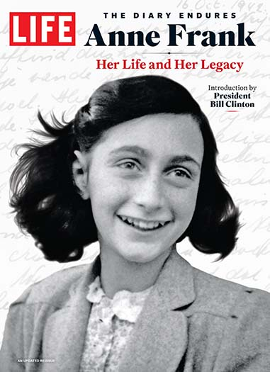 Cover of LIFE Anne Frank