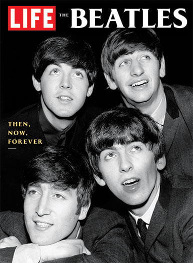 Cover of LIFE: The Beatles