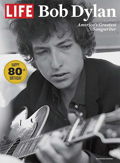 Cover of LIFE Bob Dylan