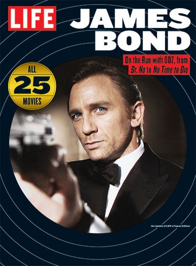 Cover of LIFE: James Bond