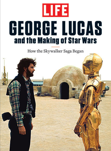 Cover of LIFE: George Lucas and the Making of Star Wars