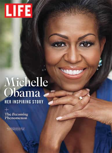 Cover of LIFE: Michelle Obama