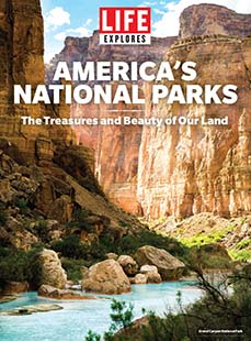 Cover of LIFE Explores America's National Parks - Grand Canyon Cover