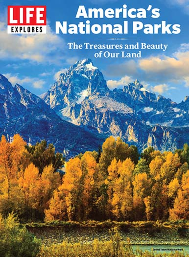 Cover of LIFE Explores America's National Parks - Grand Teton Cover