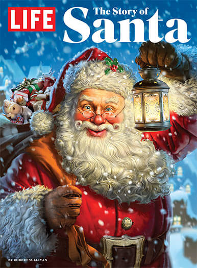 Cover of LIFE: The Story of Santa