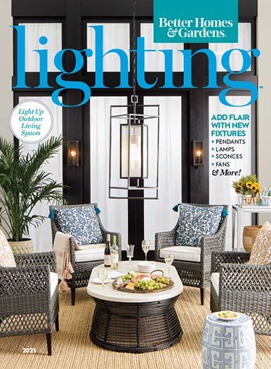 Cover of Better Homes & Gardens Lighting