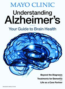 Cover of Mayo Clinic Alzheimer's