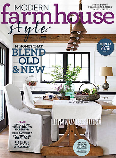 Cover of Modern Farmhouse Style Fall 2019