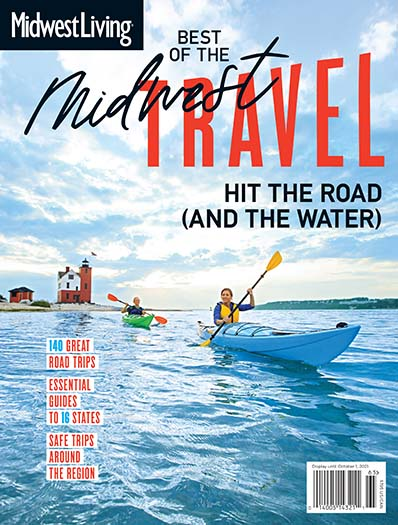 Cover of Best of the Midwest Travel 2021