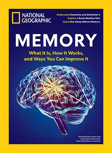 Cover of National Geographic Memory