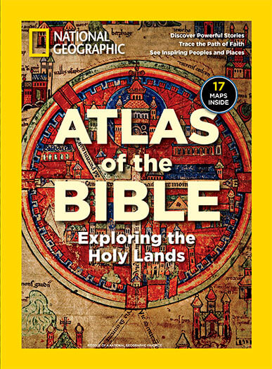 Cover of National Geographic: Atlas of the Bible