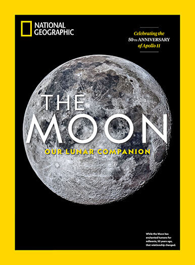 Cover of National Geographic: The Moon