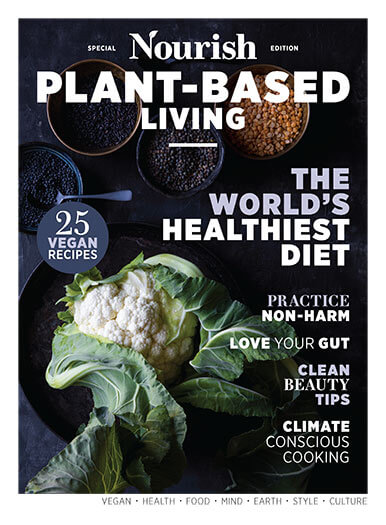 Cover of Nourish Plant-Based Living