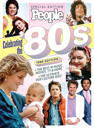 Cover of PEOPLE Celebrating The '80s 1985 Edition