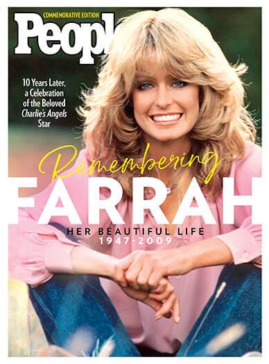 Cover of PEOPLE: Remembering Farrah
