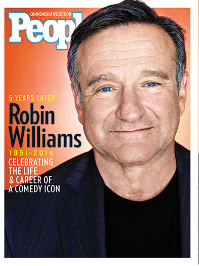 Cover of PEOPLE: Robin Williams