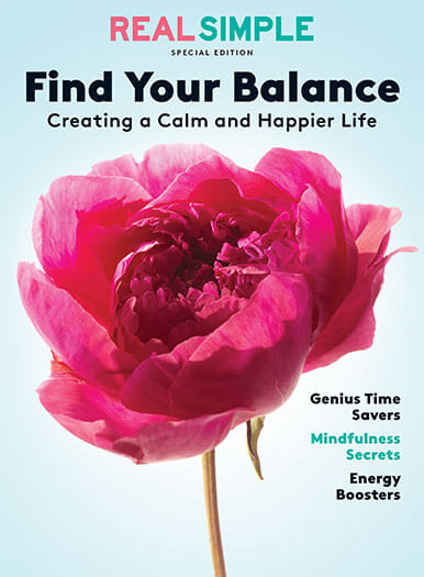 Cover of Real Simple: Find Your Balance