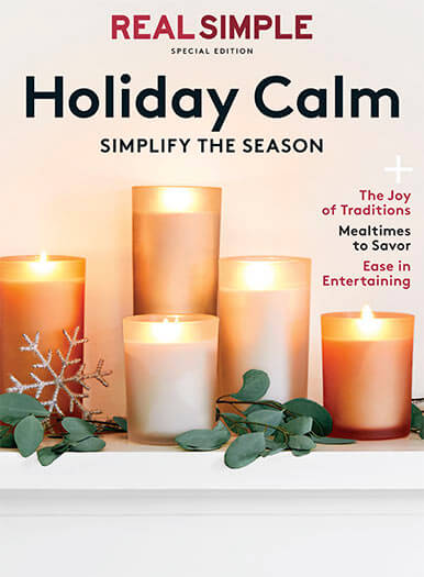 Cover of Real Simple: Holiday Calm