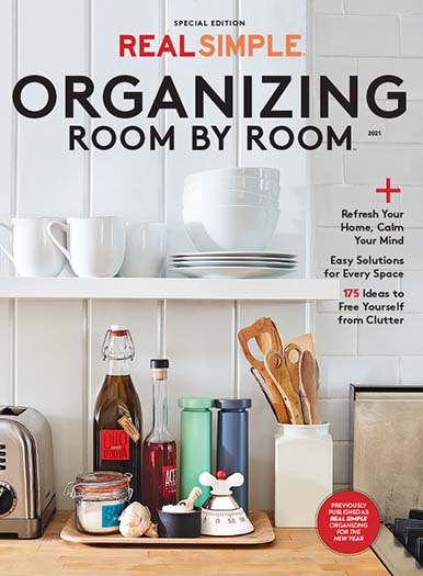 Cover of Real Simple Organizing Room by Room