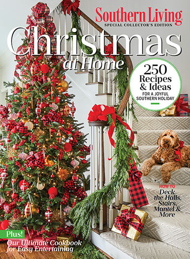 Cover of Southern Living Christmas at Home 2020