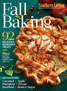 Cover of Southern Living: Best Fall Baking