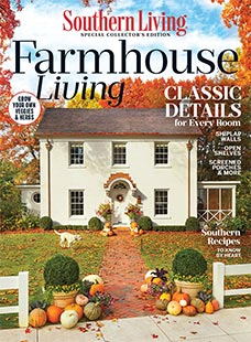 Cover of Southern Living Farmhouse Living