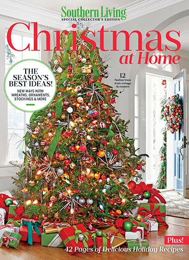 Cover of Southern Living: Christmas at Home