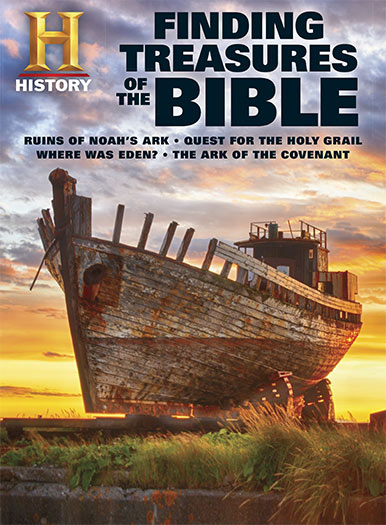 Cover of History: Finding Treasures of the Bible