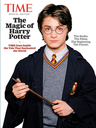 Cover of TIME: The Magic of Harry Potter