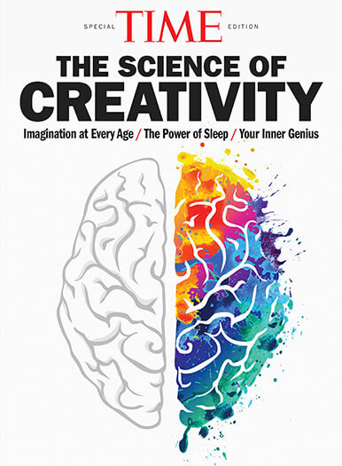Cover of TIME: The Science of Creativity