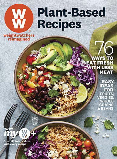 Cover of Weight Watchers Plant-Based Recipes