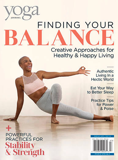 Cover of Yoga Journal: Finding Your Balance