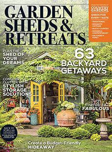 Cover of Garden Sheds & Retreats 2019