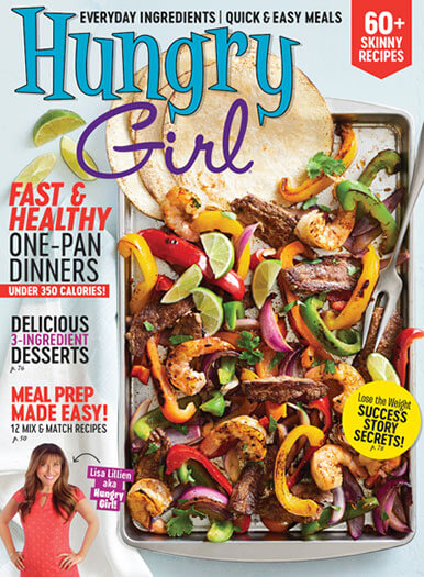 Cover of Hungry Girl Spring 2019