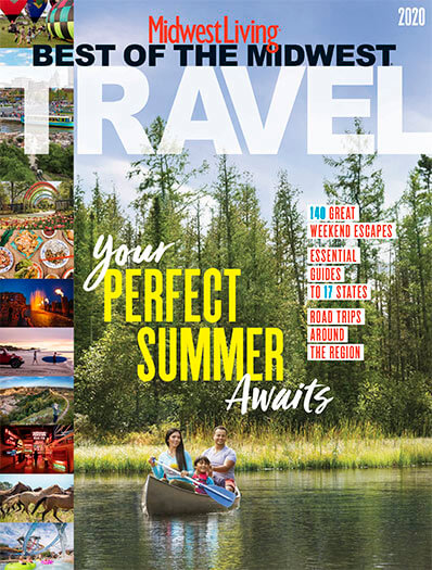 Cover of Best of the Midwest Travel 2020
